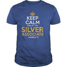 Awesome Tee For Silver Associate T Shirts, Hoodies. Get it here ==► https://www.sunfrog.com/LifeStyle/Awesome-Tee-For-Silver-Associate-130201193-Royal-Blue-Guys.html?57074 $22.99
