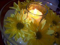 Sunflower Centerpieces Simple | Wedding Centerpieces With Sunflowers | Wedding Party Centerpieces