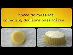 Barre de massage apaisante et calmante - YouTube Barre, Lotion, Convenience Store, Chill Pill, Massage Oil, Cocoa Butter, Home Made, Products, Convinience Store