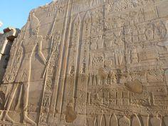 Anales de la campañas de Tutmosis III en Siria-Palestina, grabados en  Karnak