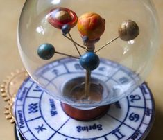 How-To: Mini Revolving Solar System.