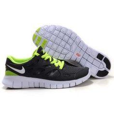 buy online 2705e 628d8 Billig High Grade Dame Nike Free Run Plus 2 Grå Grønn Nike Free Run 2,