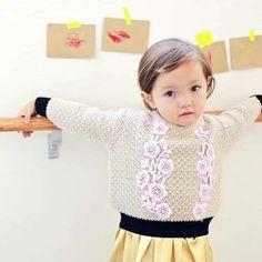 Oh so sweet Tite Comb Knit  . . . #jujubunnyshop #tite #knit #sweet #girl #look #ootd #falllook