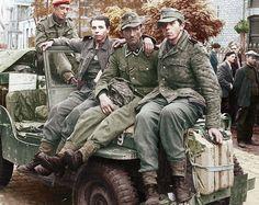German POW's