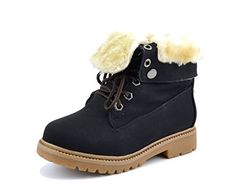 Toddler//Little Kid//Big Kid Believed Kids Boys Girls Hiking Style Comfort Work Boots Classic Ankle Boot