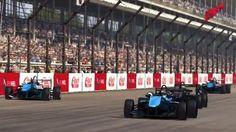GRID Autosport Race - Indianapoles - Open Wheel - Formula C - Replay / П...