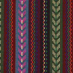 Weave Peru 4 - Farbmix - Folklore - Jackenstoffe & Mantelstoffe - Dekostoffe Streifen - Folklore - Taschenwelt - Stoffe - stoffe.de
