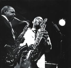 Bean and Newk...Coleman Hawkins and Sonny Rollins. This is almost like passing the torch to the next generation.