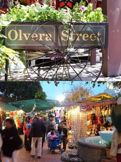 East Los Angeles - Olvera Street. This place is amazing I haven't been since I was a kid but they have a ton of cool stuff and good food.