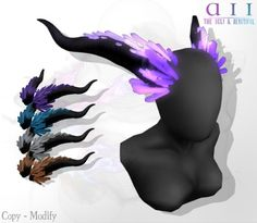 + Crystal Demon Dragon Horns Pack + BOXED Cosplay Anime, Cosplay Diy, Halloween Cosplay, Sims 4 Cas, My Sims, Sims Cc, Los Sims 4 Mods, Dragon Horns, The Sims 4 Packs