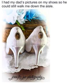 In memory of dad pictures of him on shoes on wedding day so he is still walking down the aisle with me Perfect Wedding, Fall Wedding, Our Wedding, Dream Wedding, Wedding Stuff, Wedding Dreams, Burgundy Wedding, Christmas Wedding, Wedding Tips