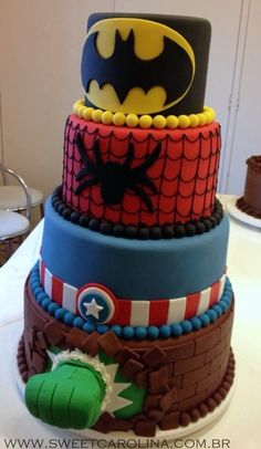 """Children's Cakes Infantis - Sweet Carolina """"The Art of Cake"""""""