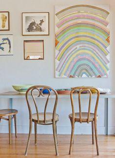 cadeiras mesa de almoço
