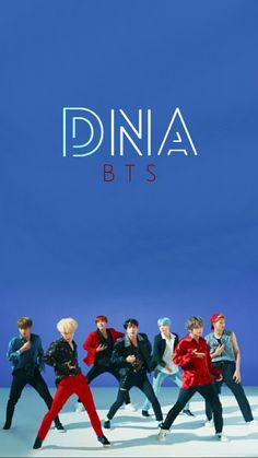 BTS DNA WALLPAPER #BTS #DNA #Wallpaper Wallpaper