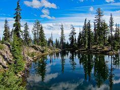 sky lakes wilderness, oregon