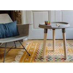 Lyon Beton Mix Side Table