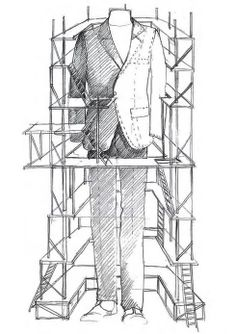 A sketch of the imposing installation #ledizione #features #mtm #canali1934