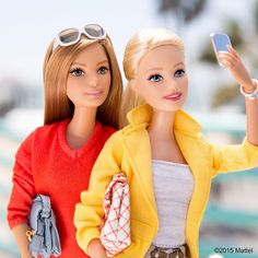 Photos are more fun with friends!  #barbie #barbiestyle