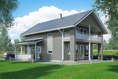 Tämä on klassikko – Peukalopotti Retro: 136 m², 4 makuuhuonetta, 1,5-kerroksinen omakotitalo