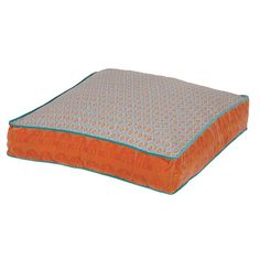 Large Festival Floor Cushion in Orange by The French Bedroom Company. Good for children's room. Best Trampoline, Backyard Trampoline, Orange Throw Pillows, Toss Pillows, Accent Pillows, Large Floor Cushions, Bedroom Cushions, Orange Home Decor, Luxury Cushions