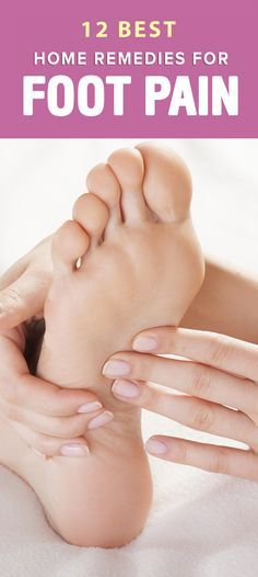Suffering from sore, aching feet? Try these six home remedies to help soothe foot pain. Home Remedies to Soothe Foot Pain Sometimes . Cramp Remedies, Foot Remedies, Health Remedies, Holistic Remedies, Foot Pain Relief, Natural Pain Relief, Ankle Pain, Leg Pain, Natural Headache Remedies