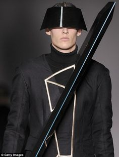 Futuristic Clothing for Men | ... show makes fashion futuristic at London Collections: Men | Mail Online