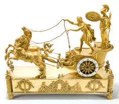 I would love to own this!     The goddess Athena is supposed to have introduced the chariot to Greece. During the Trojan War, she took the side of the Greeks against the Trojans. But I don't know what scene of the Iliad this represents. http://s49.radikal.ru/i126/1207/2d/5d9d361599eb.jpg#