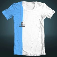 Creative T-shirt Painting in the Color