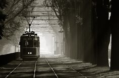 Tramway :) THAT IS OLD PHOTO NOW THEY HAVE MODERN :)