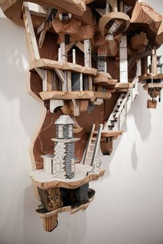 CULTURE N LIFESTYLE — Stunning Miniature Cities Built Out of Wood &...