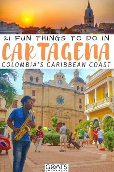 Looking for things to do in Cartagena, Colombia? This beautiful and historic caribbean city is great to explore, with delicious street food, beautiful beaches, and colourful streets. Check out our guide filled with what to do on your vacation! Barbados Travel, Colombia Travel, Thailand Travel, Stuff To Do, Things To Do, Panama Canal, Caribbean Vacations, South America Travel, Travel Tips