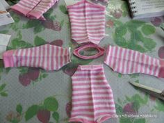 A simple master class - a half-tail for dolls MSD / Patterns of clothes for dolls-girls / Beybiki. Sewing Doll Clothes, Doll Clothes Barbie, Sewing Dolls, Barbie Dress, Diy Clothes, Barbie Sewing Patterns, Doll Dress Patterns, Kawaii Doll, Doll Tutorial