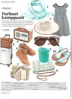 Joco Cups at Eeva Magazine 5 2015 Finland   #bigsmallcompany  www.bigsmallcompany.com Big And Small, Finland, Panama Hat, Cups, Magazine, Fashion, Moda, Mugs, Fashion Styles