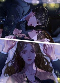 Anime Couple Kiss, Anime Love Story, Anime Boy Zeichnung, Anime Cupples, Anime Gangster, Romantic Anime Couples, Cute Anime Coupes, Romance Art, Manga Cute