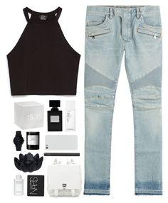 """It's alright."" by nandim ❤ liked on Polyvore featuring Zara, Larsson & Jennings, Balmain, NARS Cosmetics, Sia, Byredo and Proenza Schouler"