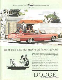 Retro Dodge ad! Too cute!