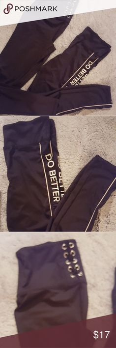 Forever 21 workout pants Forever 21 workout pants. Set of two. Small Forever 21 Pants Leggings