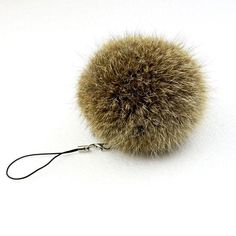 Rabbit Fur Key Chain