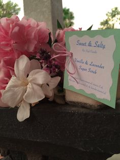 SweetSaltyScrubs: Homemade Vanilla & Lavender Sugar Scrub (: