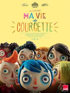 My Life as a Zucchini: Claude Barras Charming Stop-Motion Animation Stop Motion, Good Movies On Netflix, Movies Online, Nice Movies, Film D'animation, Film Movie, Sophie Hunger, Film 2016, Celine Sciamma
