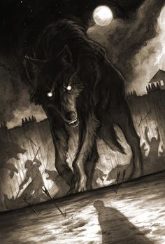 Night of 1000 Wolves alternate cover Michael Manomivibul (werewolf of the shadows betraying the shadows to the light but its a full moon) Anime Wolf, Fantasy Kunst, Fantasy Art, Dark Fantasy, Fenrir Tattoo, Vampires And Werewolves, Illustration Art, Illustrations, Diamond Illustration