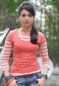 Tamanna in Cameraman Ganga Tho Rambabu Beautiful Bollywood Actress, Most Beautiful Indian Actress, Beautiful Actresses, Tamanna Hot Images, Tammana Bhatia, Teen Girl Poses, Vogue India, Pant Shirt, Beautiful Hijab