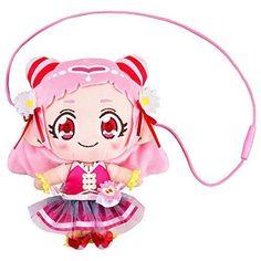 New! HUG! Precure Cure Ale Plush Doll Pouch Bandai Japan F/S #Bandai