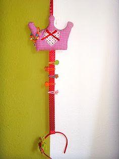 Petite Numi***Handmade with love: Hairclips Holder/Aufbewahrung für Haarspangen
