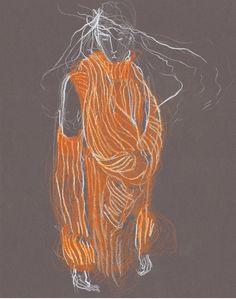 Yohji Yamamoto sketch
