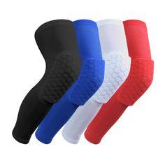 1PCS Knee brace Honeycomb kneepad Famous brand knee pad elbow support Basketball Leg Sleeve Breathable Sport Bumper Barce dizlik