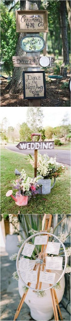 #weddingdecor #weddingideas #weddinginspiration #bohoweddings vintage boho wedding sign ideas