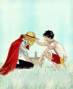 Monkey D Luffy Sanji Vinsmoke Straw Hat Pirates Mugiwaras One Piece Sanji One Piece, One Piece Ace, One Piece Ship, Anime One, Anime Manga, Manga Girl, Anime Girls, Monkey D. Luffy, One Piece Merchandise