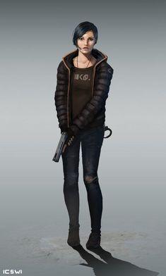 New Design Character Concept Sci Fi Ideas Post Apocalypse, Apocalypse Survivor, Gangsters, Science Fiction, Samurai, Pulp, Cyberpunk Art, Cyberpunk 2020, Sci Fi Characters