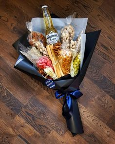 Father Birthday Gifts You meet Food Bouquet, Candy Bouquet, Liquor Bouquet, Beer Bouquet, Cute Valentines Day Gifts, Cute Gifts, Homemade Gifts, Diy Gifts, Beer Gifts